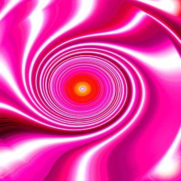 Pink Energy-Spiral van Ramon Labusch