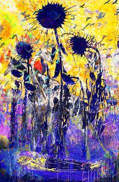 Art Party met Van Gogh, Kiefer, Brandt en Zanolino. van Giovani Zanolino