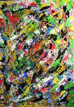 """""""Vermischtes Farbenspiel III"""" von elha-Art"""