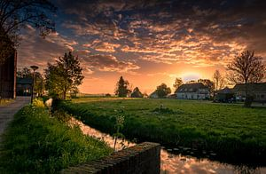 zonsopgang Westbroek.