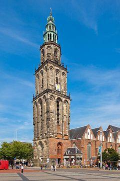Martinitoren Groningen sur Anton de Zeeuw