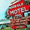 Noon-Glo Motel (001) van Melanie Rijkers thumbnail