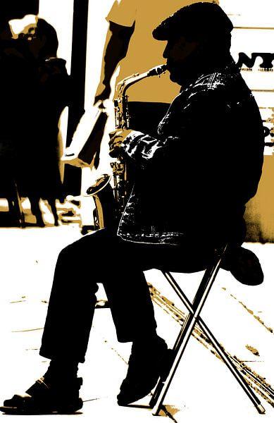 Straßenmusiker von Kirsten Warner