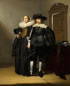 Porträt eines Ehepaares, Pieter Codde