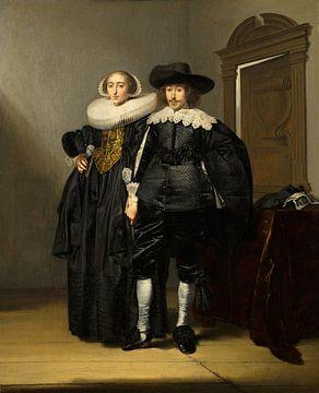 Portret van een echtpaar, Pieter Codde