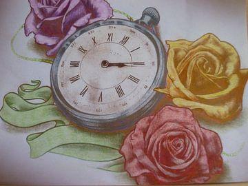time with roses von Edith Boogaard van den