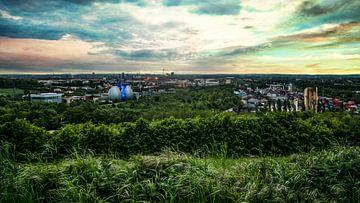 Uitzicht over Dortmund van