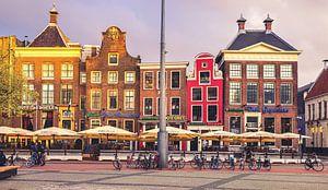 Die drei Schwestern auf dem Grote Markt Groningen von Hessel de Jong