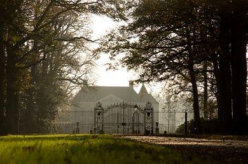 Hek voor het Huis Singraven. van Ron Poot