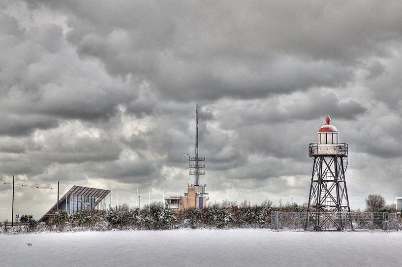 Hoek van Holland vuurtoren van PAM fotostudio