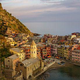 Vernazza - Cinque Terre van Teun Ruijters