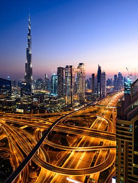 Burj Khalifa Dubai von Michael Blankennagel