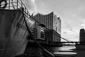 M/S Seute Deern in Hamburg's harbour van Stefan Heesch