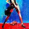 She's Got Legs van Feike Kloostra thumbnail