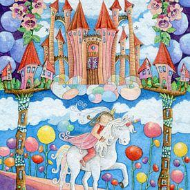 Princesse Licorne sur Atelier BuntePunkt