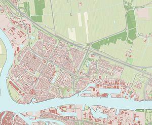 Kaart vanPapendrecht