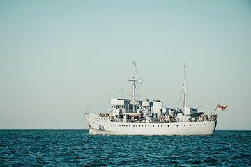 Seconde Guerre mondiale voile marine navire vers le plateau de tournage de Dunkerque sur Sjoerd van der Wal