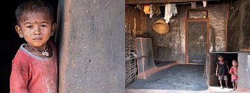 Panneau avec les atmosphères d'Odisha, Inde sur Affect Fotografie