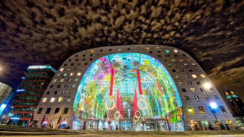 de Markthal van Rotterdam van Eric de Haan