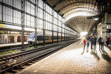 Stadion Haarlem von Sylvia Duits-Hofland