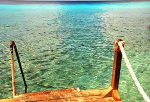 Helder water in het paradijs van