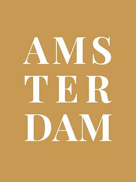 Amsterdam (in goud/wit)