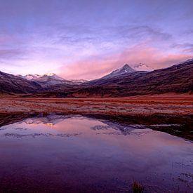 IJslandse bergen van Sjon de Mol