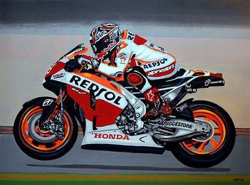 Marc Marquez schilderij von Paul Meijering