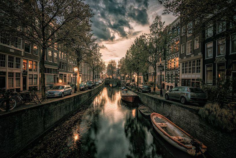 Blauwburgwal, Amsterdam van Reinier Snijders