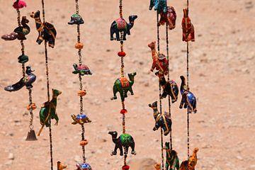 Souvenir kamelenketting Petra van Petra Kooiman