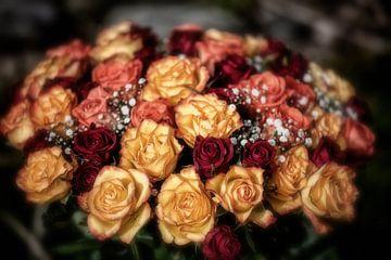 Romantischer Rosenstrauss von Nicc Koch