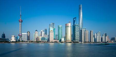 Shanghai in Blue