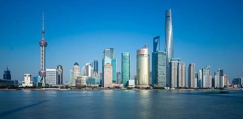 Shanghai in Blue van Inge van den Brande