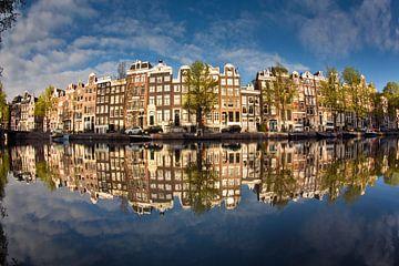 Singel-Kanal in Amsterdam von Frans Lemmens