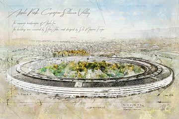 Apple Park, Cupertino sur Theodor Decker