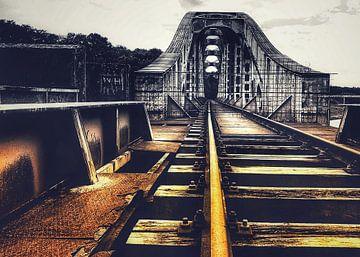 Eisenbahnbrücke von Creativiato Shop