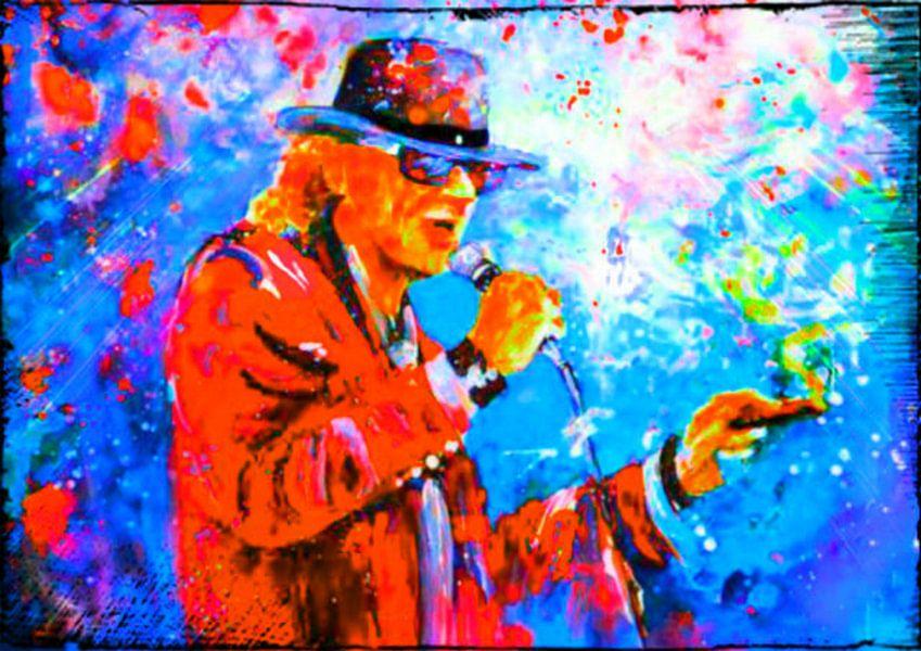Udo Lindenberg LIVE ON STAGE POP ART PUR 4