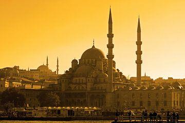 Sonnenuntergang Istanbul von Antwan Janssen