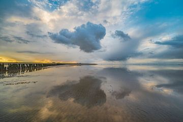 Waddenzee 2 van Peter Bijsterveld