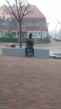 Het nieuwe Jan van schaffelear beeld van Wilbert Van Veldhuizen