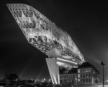 Nieuw  Havenhuis Antwerpen von Erik Bertels