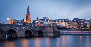 St.Servaos Brögk, Mestreech - Sint Servaas Brücke, Maastricht von Teun Ruijters