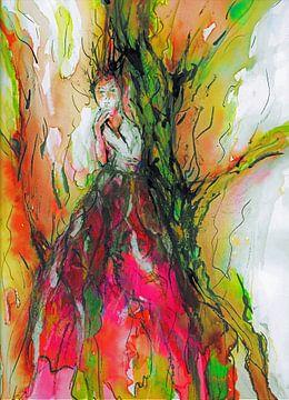 De bosnimf. van Ineke de Rijk