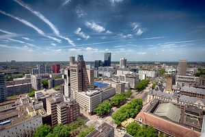 From the top of Rotterdam
