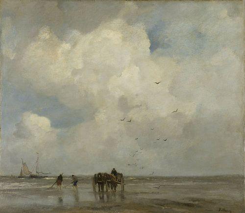 Muschelfischer Schelpenvissen - Jacob Maris von Hollandse Meesters