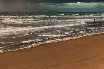 Zee bij zonsondergang von Simone Janssen
