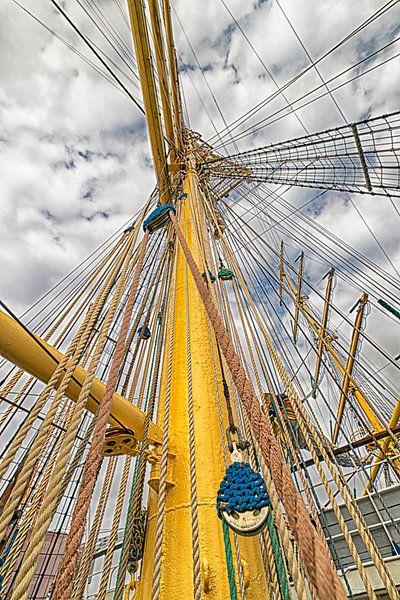 Grote zeilschepen van Marly De Kok