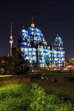 Berliner Dom in besonderem Licht von Frank Herrmann