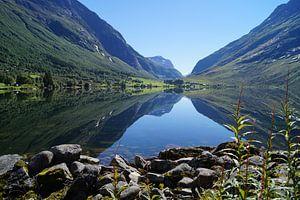 Wunderschöner See bei Hellesylt van