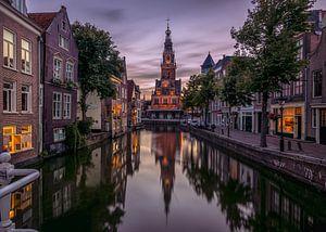 Avonds in Alkmaar van